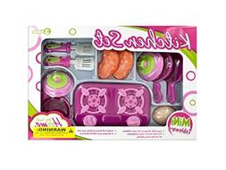 Bulk Buys Mini Kitchen Stove Play Set, Case of 4