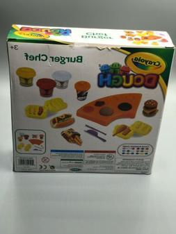 Crayola Burger Chef Modeling Dough Play Set 13 Pieces