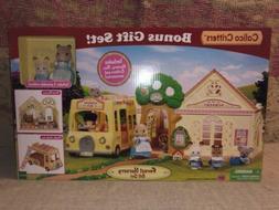 Calico Critters Forest Nursery w/ Bonus Gift Set