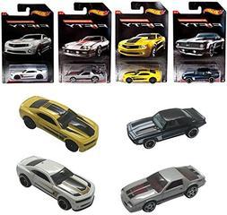 Set of 4 Hot Wheel Camaro Exclusive Fifty Edition Collectors