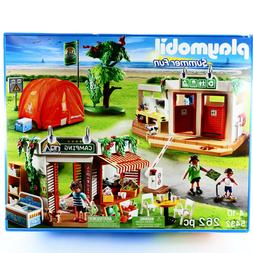 PLAYMOBIL Camp Site Summer Fun 5432 Huge Playset Camping Toy