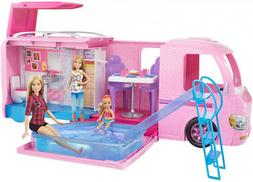 Barbie Camping Playset Pink Girl Toy Dream Camper Adventure