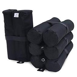 Abba Patio Canopy Weight Bags for Outdoor Shelter Pop up Can