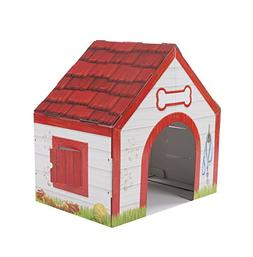 Cardboard Structure Doghouse Playhouse