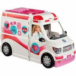 Barbie Care Clinic 2-in-1 Fun Playset With Accessories Play