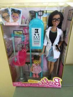 Barbie Careers Eye Doctor Doll & Playset Woman of color New