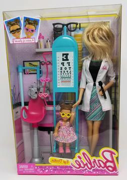 Barbie Careers Eye Doctor Playset  NEW