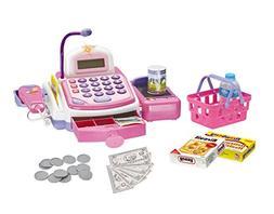 CifToys Cashier Toy Cash Register Playset | Pretend Play Set