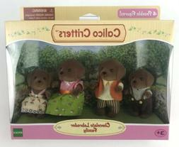 Calico Critters CC1454 Chocolate Labrador Family Doll Set Pl