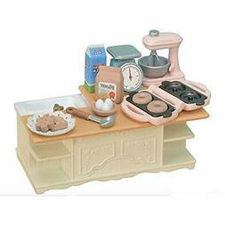 CALICO CRITTERS #CC1834 - Kitchen Island Play Set - New Fact