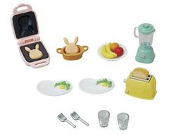CALICO CRITTERS #CC1836 Breakfast Playset - New Factory Seal