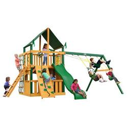 Chateau Clubhouse Swing Set with Timber Shield