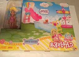 Barbie Chelsea Pool-Playset/Doll& Accessories**New**