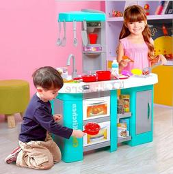 Child Kids Kitchen Toy Chef Cooking Pretend Play Set Toddler
