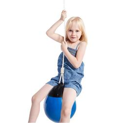 Children <font><b>Swing</b></font> Ball With Rope Chain Kids