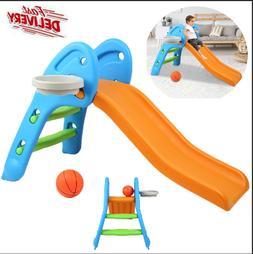 Children's Slide Kids Play Slide Set Climber Playset Playgro