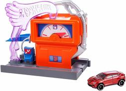 Hot Wheels City Downtown Super Fuel Stop Playset