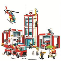 City Fire Station compatible LEGO 60110
