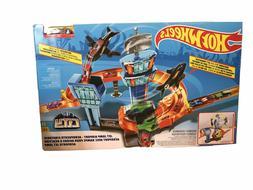 Hot Wheels City Jet Jump Airport Kit Pack Playset Set