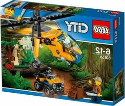 LEGO® City: Jungle Cargo Helicopter Building Play Set 60158