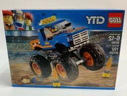 LEGO City Monster Truck 60180 Building Kit   NEW SEALED