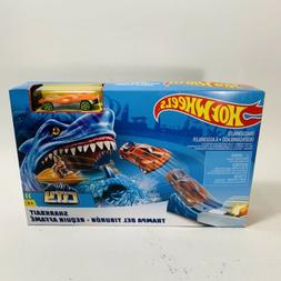 Hot Wheels City Sharkbait Race Track Play Set - Car Included