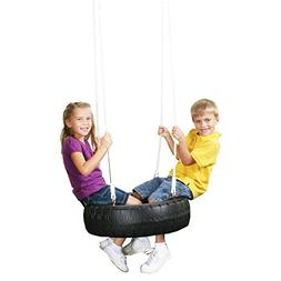 Swing-N-Slide Classic Tire Swing, Black