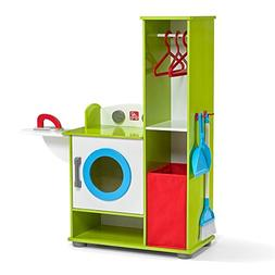 Step2 Clean Sweep Wood Laundry Center Laundry Playset