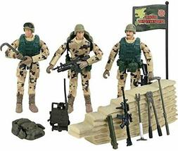 Click N' Play Military Dessert Marine Action Figure 22 Pie