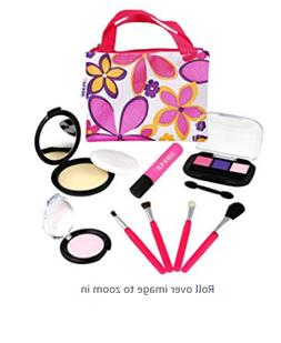 Click N' Play Pretend Play Cosmetic and Makeup Set with Flor