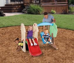 Climber and Swing Set Outdoor Play Backyard Playset Kids Pla