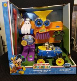 Disney Clubhouse NIB Mickey Mouse Car Wash Color Change Play