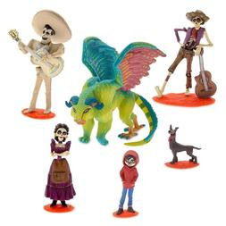 Disney store Coco Play set Figurine Cake Topper 6 pcs PVC NE