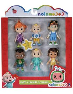 Cocomelon Family & Friend 6 Pack Figure Play Set Toy You Tub
