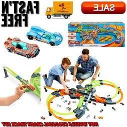 Hot Wheels Colossal Crash Track Set, Diecast & Toy Vehicles,