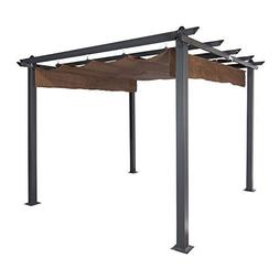 Coolaroo Constantine Pergola, Backyard or Patio Shade Pergol