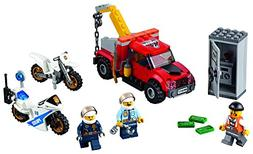 Construction Toy 144 Piece LEGO City Police Tow Truck Troubl