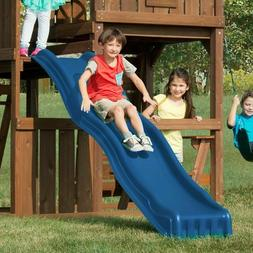 Swing-n-Slide Cool Wave 7 Foot Slide Blue