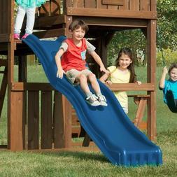 Swing-n-Slide Cool Wave 7 Foot Slide Blue