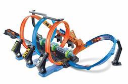 Hot Wheels Corkscrew Crash Track Set - FREE SHIPPING