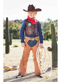Cowboy Costume Play Set For Boys Chasing Fireflies Size 10