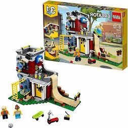 Lego Creator 3In1 Modular Skate House 31081 Building Kit 422