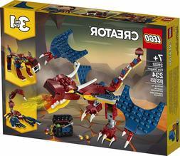 LEGO® Creator Fire Dragon Building Play Set 31102 NEW NIB