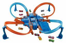 Hot Wheels Criss Cross Crash Track Set - FREE SHIPPING & NEW