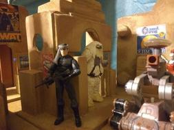 custom star wars tatooine building playset diorama 3.75 scal
