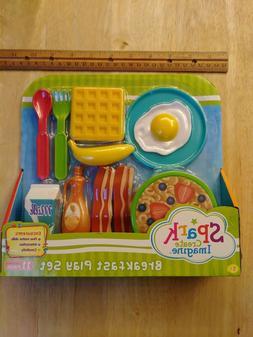 Cute Breakfast Food Play Set by Spark
