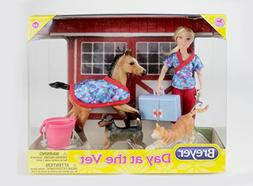 day vet doll animals set