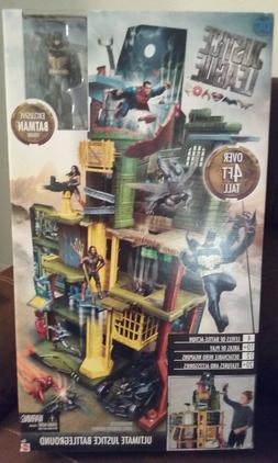 DC JUSTICE LEAGUE ULTIMATE BATTLEGROUND PLAYSET W/EXCLUSIVE