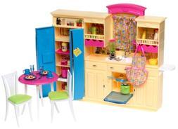 Barbie Decor Collection KITCHEN Playset - Multi-Lingual Box