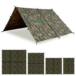 Aqua Quest Defender Tarp - 100% Waterproof Heavy Duty Nylon
